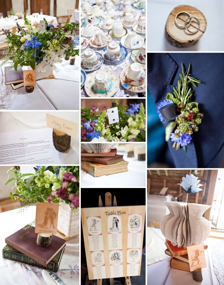 A Quirky Book Themed Wedding In Reading