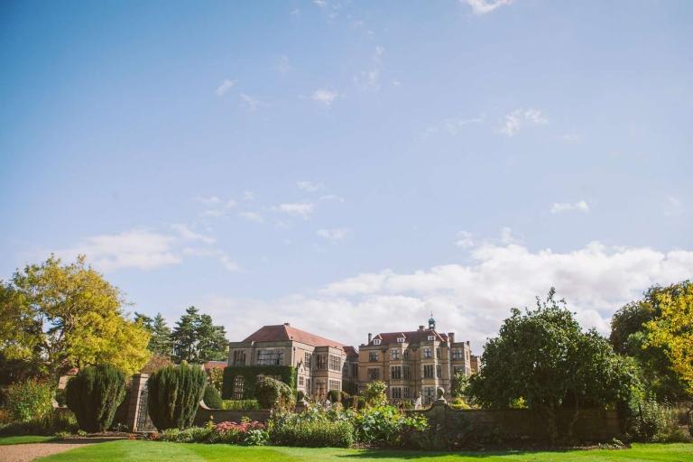 Fanhams Hall and gardens