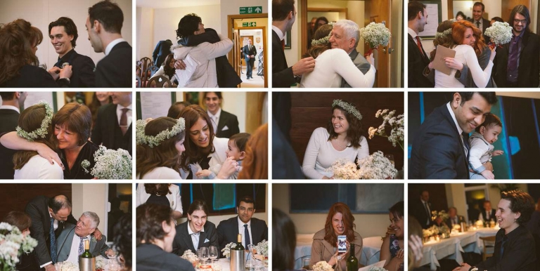 Candids from intimate St Albans wedding