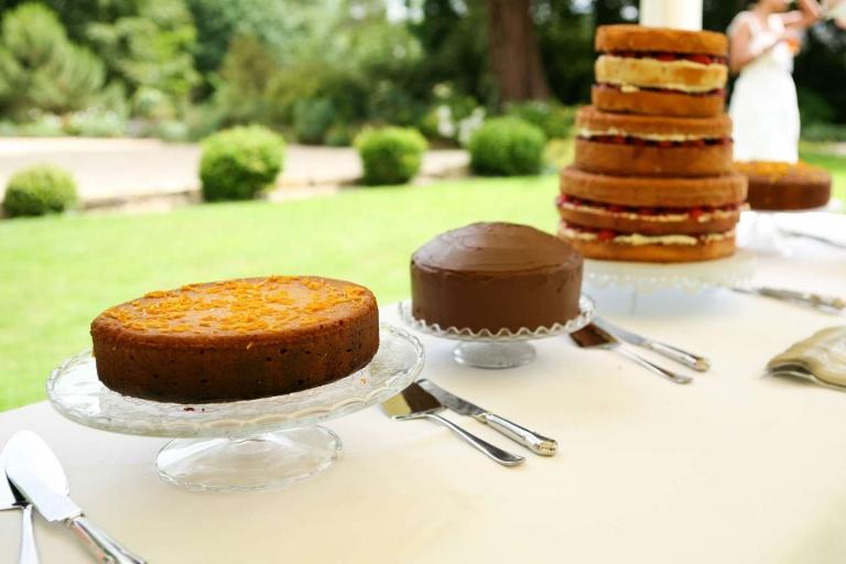 Bake off at wedding