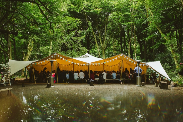 Real Woodland Weddings: Outdoor Wedding Venue In Hertfordshire