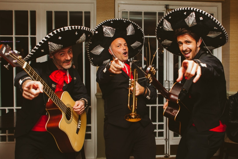 Mariachi band at Monkey Island wedding