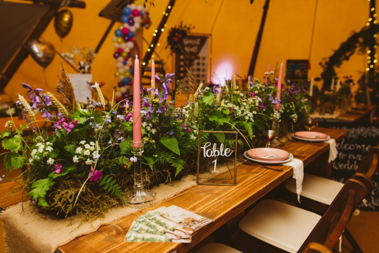 Flowers by Flowers At Fifty Eight at Tip Top Venues